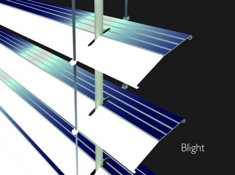 Store vénitien photovoltaïque