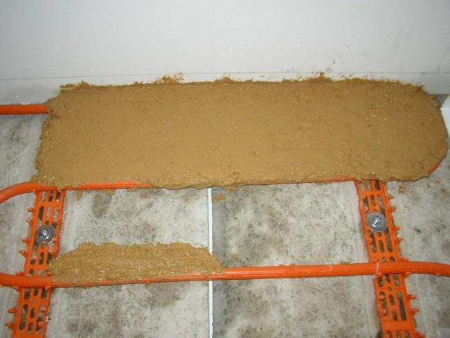 mur chauffant