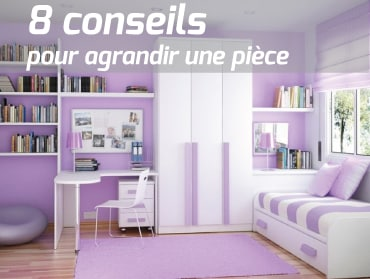 agrandir une pi ce de la maison 8 conseils. Black Bedroom Furniture Sets. Home Design Ideas