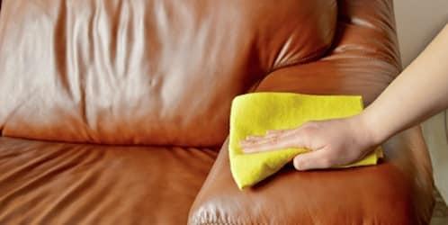 comment entretenir et nettoyer son canapé cuir ? - topdeco.pro