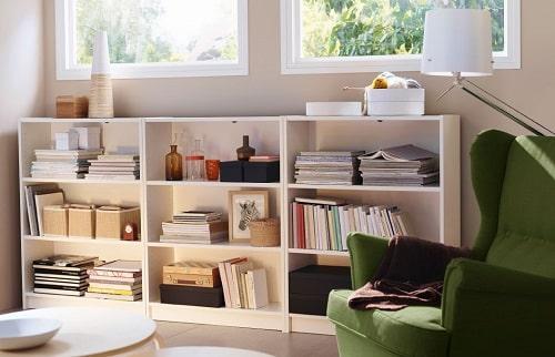 Agrandir une pi ce de la maison 8 conseils - Ikea bibliotheque murale ...