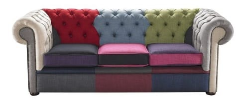 Canap chesterfield pour un salon vintage - Canape type chesterfield ...