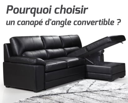 Pourquoi choisir un canap d 39 angle convertible for Acheter un canape convertible