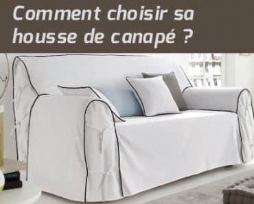 Comment choisir sa housse de canapé