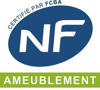 Label NF Ameublement pour votre canapé d'angle convertible