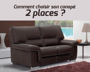 comment choisir son canap 2 places. Black Bedroom Furniture Sets. Home Design Ideas