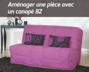 Aménager une pièce avec un canapé BZ