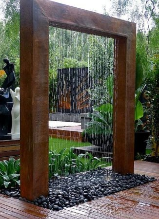 D coration jardin 6 id es - Fontaine de decoration ...