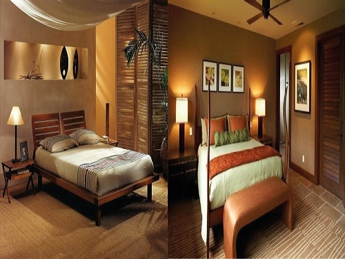 Chambre style africaine for Idee decoration chambre