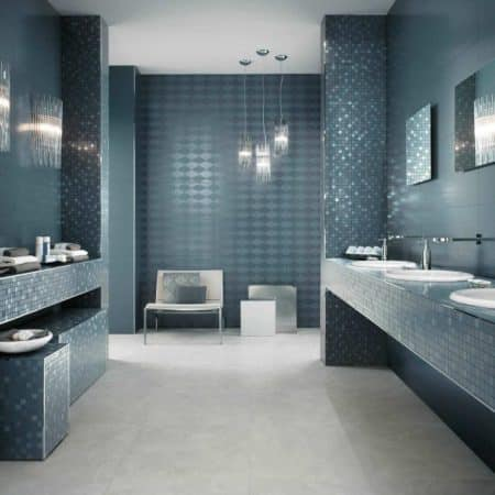 carrelage salle de bain les tendances les plus en vogue. Black Bedroom Furniture Sets. Home Design Ideas