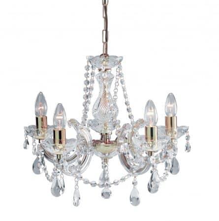 Lustre en cristal pour une décoration luminaire plafond