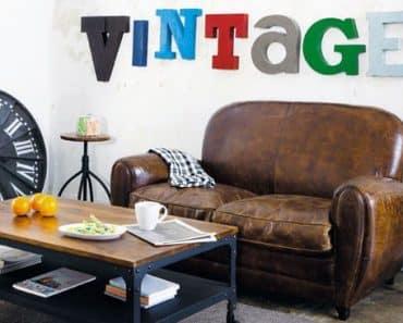 Comment réussir sa décoration vintage ?