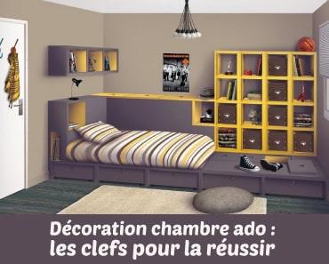 Décoration chambre ado : un art subtil