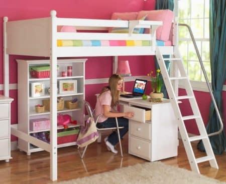 Décoration chambre ado : fille