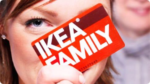 Chez Ikea Ardon, vous pouvez utiliser votre carte Family